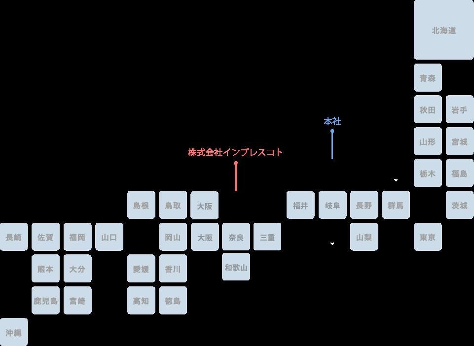 事業領域マップ