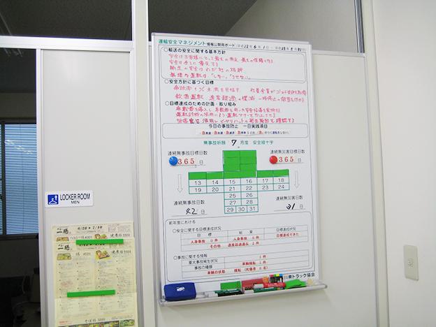 運輸マネジメント社内掲示2